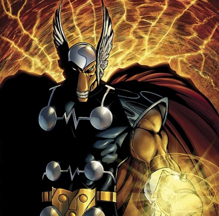 Beta Ray Bill. Art by Andrea Di Vito & Laura Villari.