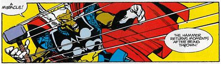 Beta Ray Bill. Art by Walt Simonson.