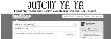 Jutchy Ya Ya 41 - Forgettin' 'bout the ghetto and rappin' for the pop charts
